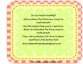 3 Ways to Read a Book with clipart