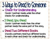 3 Ways to Read to Someone Poster