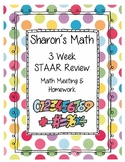 3 Week STAAR review