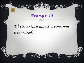 3 Weeks of Writing Prompts