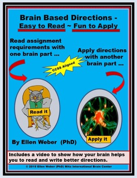 3 Brain Based Steps to Follow Directions Well - CCSS Aligned