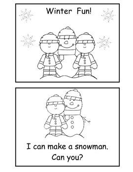 3 Winter Emergent Readers