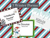 3 Winter Poems Freebie