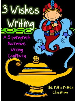 3 Wishes Genie Writing {{For Google Drive}}