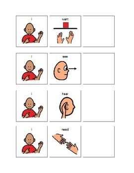 3-Word Sentence Strip