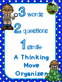 Making Thinking Visible: 3 Words, 2 Questions, 1 Simile