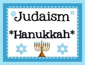 3 World Religions & Holidays - Christianity, Judaism, Islam