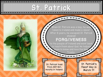 3 Years of Saints Posters for Primary Grades