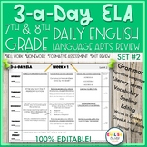 3-a-Day ELA {SET 2}-English Language Arts Review