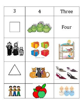 3 and 4 Sort