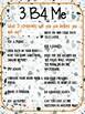 3 b4 me strategies terrazzo poster