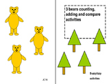 3 bears count add and compare