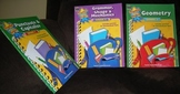 3 books Language Arts and Math for GRADE 5