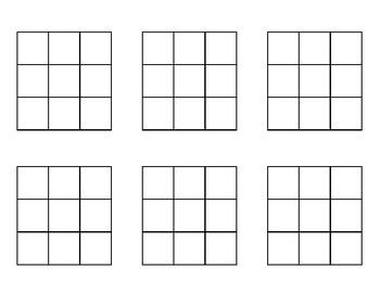 3 by 3 Math Grid