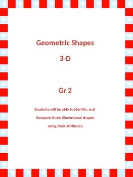 3-d Geometric Shapes