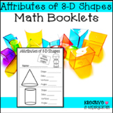 3-d Shape Attribute Booklet