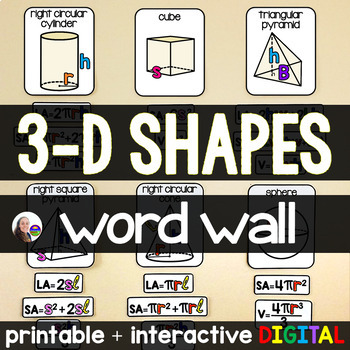 3-d Shapes Posters