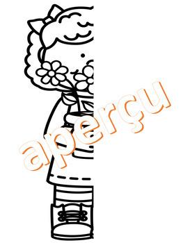 3 dessins à finir - PRINTEMPS (french fsl)