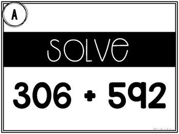 3 digit + 3 digit Addition {No Regrouping}