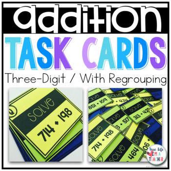 3 digit + 3 digit Addition {With Regrouping}