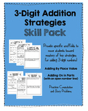 3-digit Addition Strategies SKILL PACK