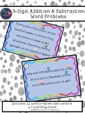 3-digit Addition & Subtraction Word Problems