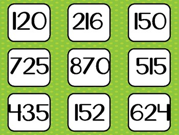 3 digit Addition Tic- Tac-Toe