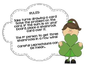 3 digit Addition Tic- Tac-Toe March Math Center