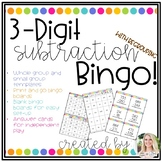 3-Digit Subtraction (with regrouping) Bingo!