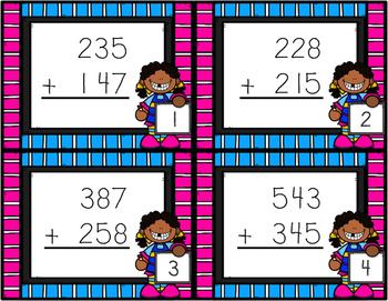 3 digit addition within 1000 2.NBT.B.7