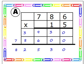 3 digit by 2 digit Multiplication - Find the error!