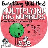 - 3 digit by 2 digit Multiplication TEKS 5.3B 5th grade