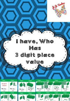 3 digit place value MAB I have, who has game