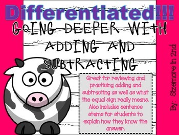 differentiated adding and subtracting stations