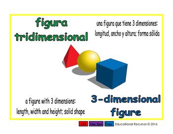 3-dimensional figure/figura tridimensional geom 1-way blue/verde