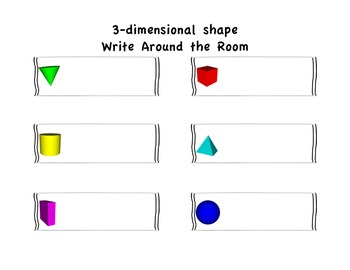 3-dimensional shape Write Around the Room (Please rate :)