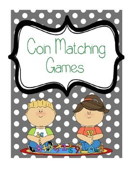3 for 1!!! Coin Matching/Memory Games