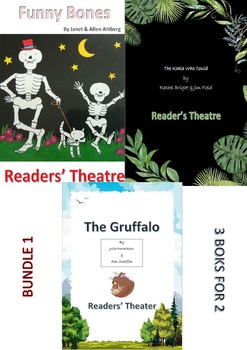 3 for the price of 2. The Gruffalo, The Koala Who Could and Funny Bones Readers'