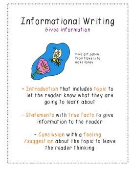 3 genres/types of writing