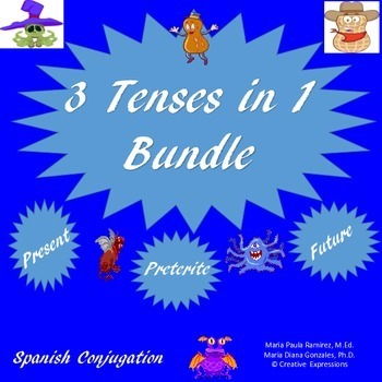 3 in 1 Bundle - Present/Preterite/Future