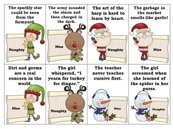 3 in 1! Christmas Language, Articulation, and Reinforcing