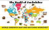 3 in 1: International Sandwich Bingo, SMARTboard Selector