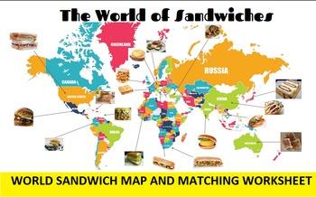 3 in 1: International Sandwich Bingo, SMARTboard Selector