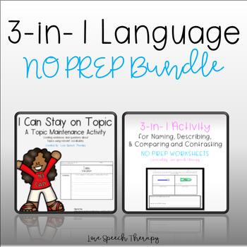 3-in-1 NO PREP Language Bundle