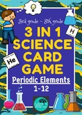 Periodic Table 3-in-1 Science Game - Elements 1-12