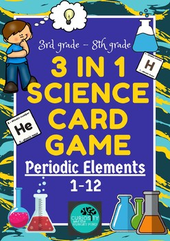 Periodic table 3 in 1 science game elements 1 12 tpt periodic table 3 in 1 science game elements 1 12 urtaz Choice Image