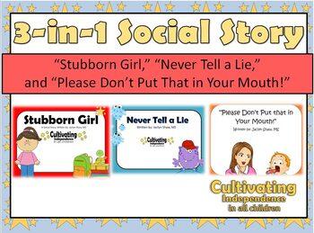 3-in-1 Social Story Bundle