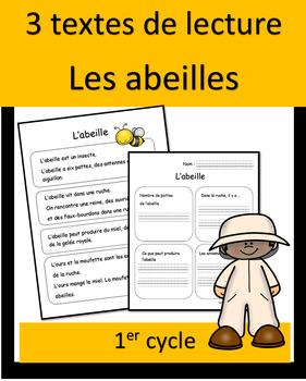 3 lectures - abeilles