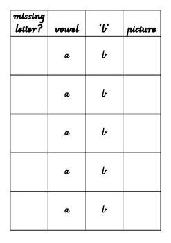 3 letter word family 'b'