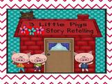 3 little pigs retelling